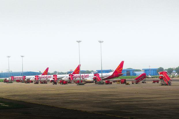 SpiceJet operates a fleet of 35 737s and 19 Bombardier Q400s. File photo: Mint