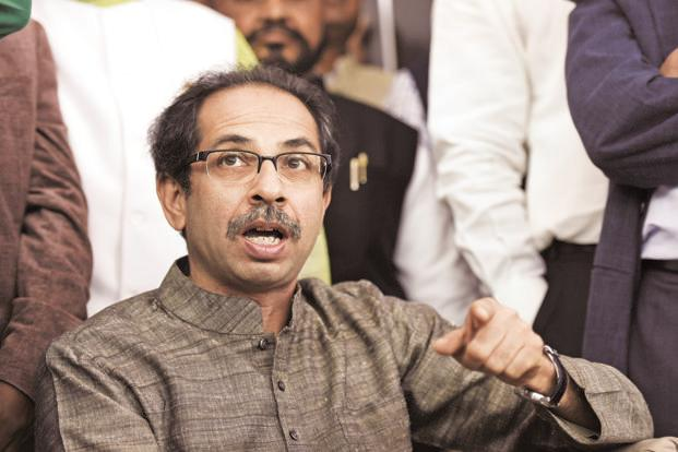Shiv Sena chief Uddhav Thackeray said his party had recommended RSS chief Mohan Bhagwat's name for the post of president. Photo: HT