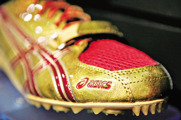 ASICS markets its shoes as running shoes and the brand has associated itself with a few running events in India, including the Mumbai Marathon. Photo: Bloomberg