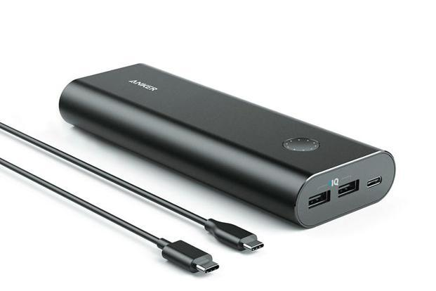 The power bank has an aluminium casing, with a secondary reinforcement layer to protect the cells packed inside.