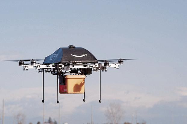 Amazon Is One Of Several Firms That Are Gearing Up To Launch Autonomous Drone Deliveries