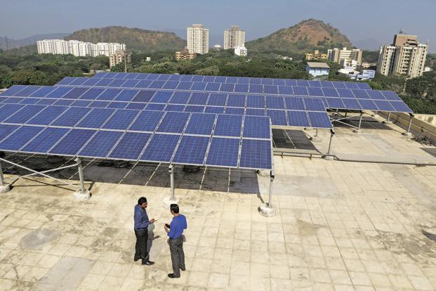 The study says that labour-intensive rooftop solar segment will employ 70% of the new workforce, creating seven times more jobs than large-scale projects such as solar farms. Photo: Abhijit Bhatlekar/Mint