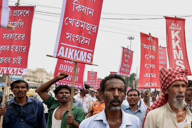 While the media recognizes the reality of farmers' distress, it takes serious exception to farm loan waivers as a means of addressing the problem. Photo: PTI