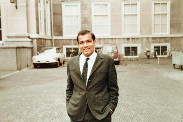 Y.V. Reddy at the Institute of Social Studies, The Hague, Netherlands, in 1968.