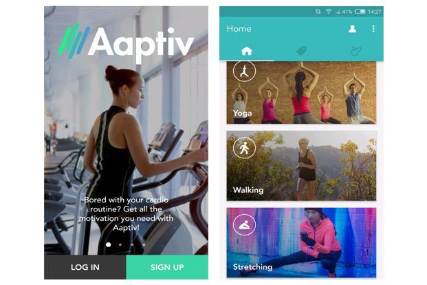 Apptiv is an audio based fitness app which offers workout programs for users who don't want to go to a gym or hire a personal trainer.