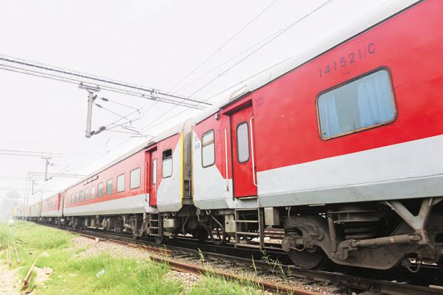 Targeting the festive season which begins from October, railways have launched a three-month programme under Project Swarn to refurbish coach interiors, improving toilets and cleanliness in Rajdhani and Shatabdi coaches. Photo: Ramesh Pathania/Mint