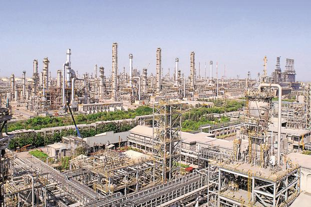 Reliance Industries' Jamnagar refinery. The company's consolidated debt rose to Rs1.96 trillion at the end of March, compared with Rs1.8 trillion a year ago. Photo: AFP