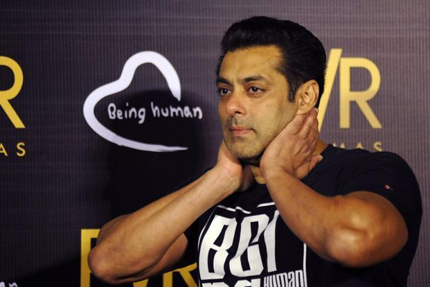 After a long time, a Salman Khan-starring film has not managed to create any box office records. Photo: AFP