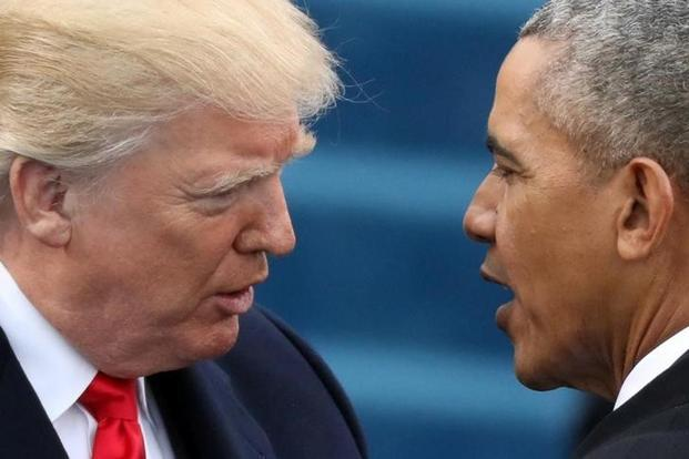 Donald Trump slams Barack Obama, demands 'apology' over Russia probe