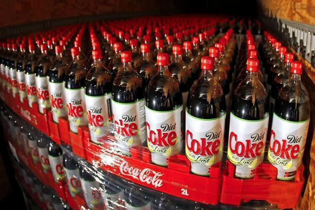 The company said aerated beverages have been the worst hit category with the proposed tax of 40% under the GST. Photo: Bloomberg