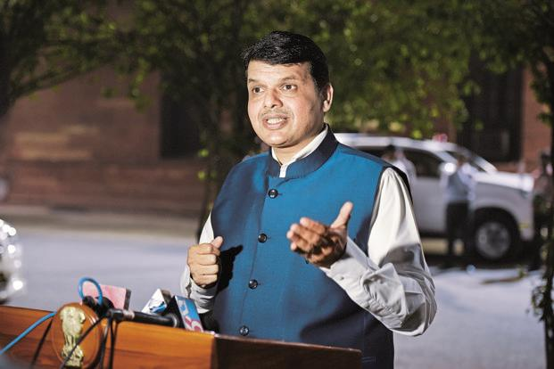 On 24 June, Maharashtra chief minister Devendra Fadnavis declared a farm loan waiver of Rs34,022 crore to benefit 8.9 million farmers in the state. File photo: HT