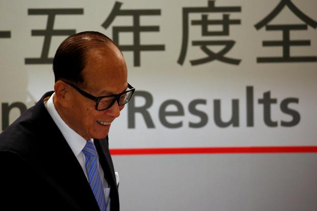 Hong Kong's richest man, Li Ka-shing, would retire as chairman of flagship CK Hutchison Holdings Ltd by next year. Photo: Reuters