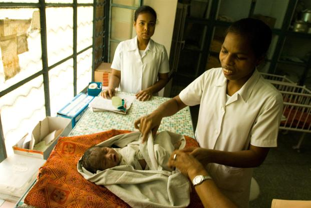 In India, more births are registered in September than in any other month (9.35%).
