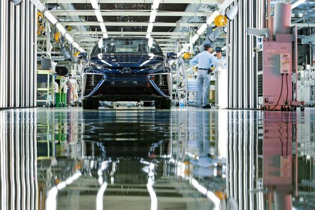 More stock keeping units must be met with fewer components if conversion costs are to be kept in check. Toyota's New Global Architecture (TNGA) is a case in point. Toyota expects TNGA to help cut factory investments by 40% and factory manpower by about 20%. Photo: Bloomberg