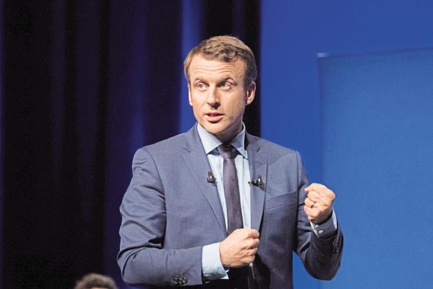 French President Emmanuel Macron's idea is to move beyond idle optimism by gaining German consent to turn the eurozone into a state-like entity—a federation-lite. Photo: Bloomberg