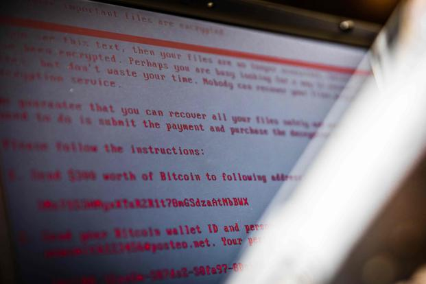 Unlike traditional forms of ransomware, which often provide secure forms of payment in order to release control of networks, the new hack has seemingly concentrated on crippling systems, rather than obtaining a ransom. Photo: AFP