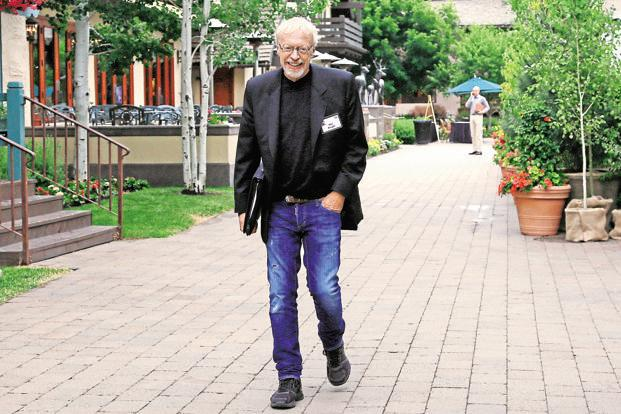 A file photo of Nike co-founder Phil Knight. Photo: Reuters