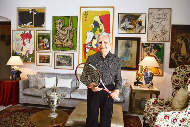 Naresh Kumar at his residence in Kolkata. Photographs by Indranil Bhoumik/Mint