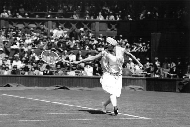 Suzanne Lenglen. Photographs from Getty Images