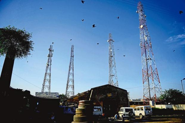 The debt for the telecom industry has touched Rs4.6 trillion, and telecom operators, even the large ones are facing severe pressure on revenue and profitability after the entry of aggressive newcomer Reliance Jio. Photo: Mint