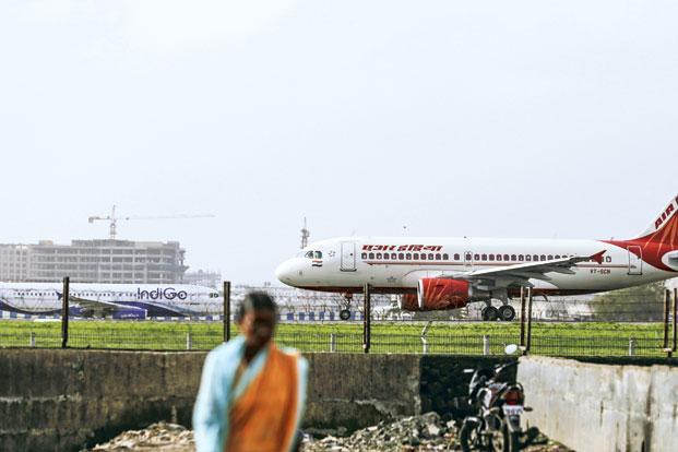 Air India's financials may be improving, in line with the trend seen in other airlines, helped by fuel cost savings thanks to a drop in crude prices. Photo: Bloomberg