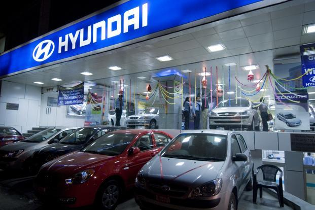 In January-June, Hyundai's domestic sales figure stood at 2,53,428 units, up 4.1% from 2,43,442 in the year-ago period.  Photo: Mint