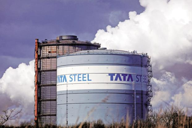 A file photo of Tata Steel's Port Talbot plant. Photo: Bloomberg