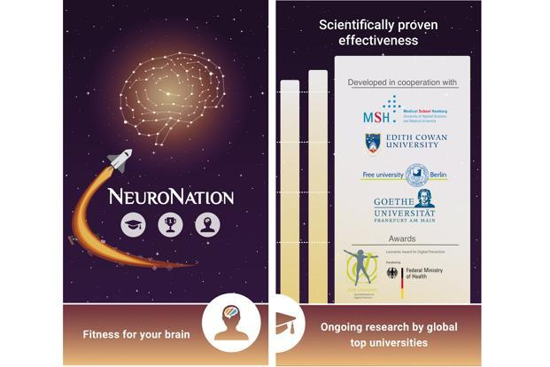 NeuroNation offers short puzzle-based exercises which can improve your memory.