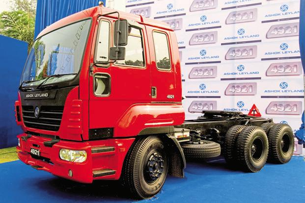 Ashok Leyland in top gear after good monthly sales