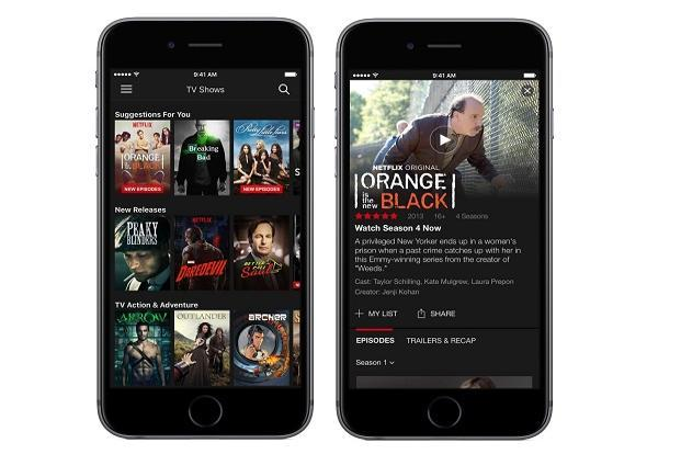 According to Netflix, 50% of its users access videos on the video streaming service through smartphones.