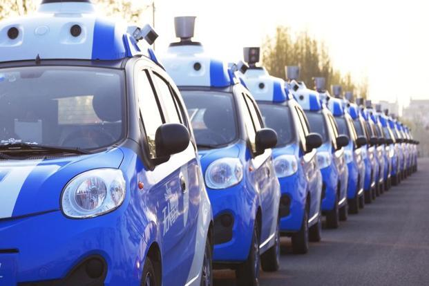 Baidu has previously tested its cars close to its campus in Beijing's northwest without incident, and it is working with the government to develop rules for self-driving cars, which currently exist in a legal grey area. Photo: Reuters