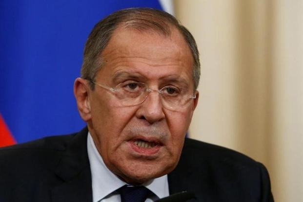 Russian foreign minister Sergei Lavrov said that the task of the denuclearization of the entire Korean peninsula cannot and should not be used as a disguise for attempts to change North Korea's regime. Photo: Reuters