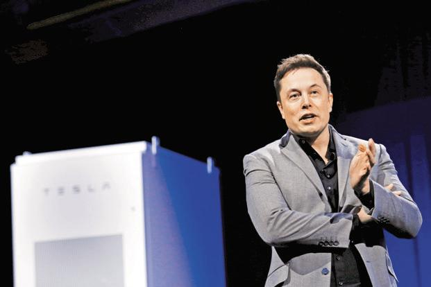Tesla CEO Elon Musk. Volvo's announcement to make only electric cars from 2019 appears strategically timed to coincide with the start of production of Tesla Model 3. Photo: AP