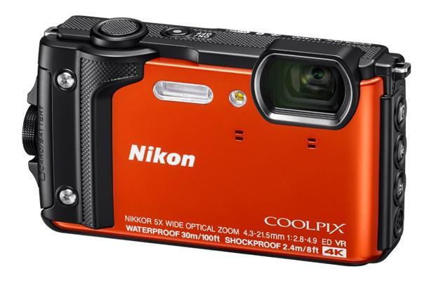 Nikon Coolpix W300 is water and shock proof and can even survive in freezing cold.