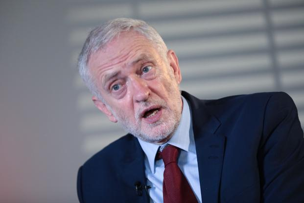 Jeremy Corbyn will use the speech to the British Chambers of Commerce to pledge more spending on education as he pushes back against seven years of spending cuts. Photo: Bloomberg