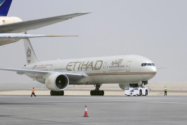 With 24% stake, Etihad is a strategic partner of Jet Airways. Photo: Reuters