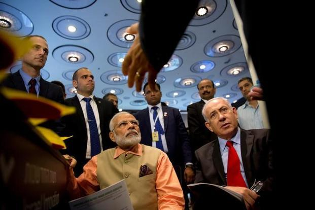 Narendra Modi visits Haifa, pays homage to martyred Indian soldiers