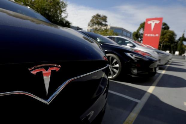 Demand for Tesla's higher-priced Model S sedans and Model X sport utility vehicles appears to be plateauing. Photo: Reuters
