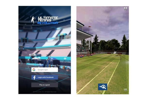 Ultimate Tennis Revolution is available only on the Play Store, as of now.