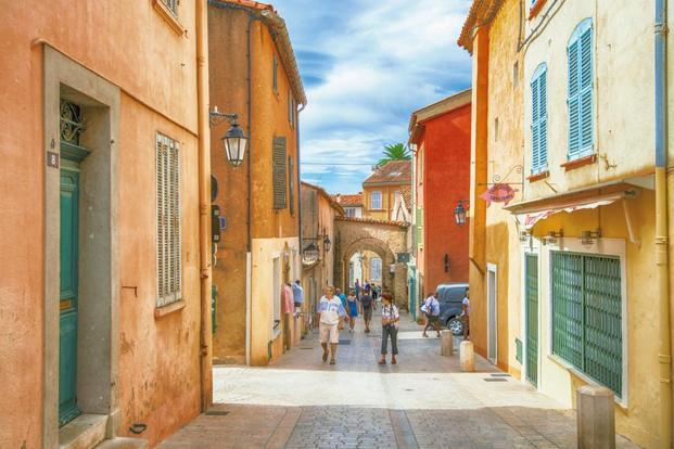 An alley in Saint-Tropez, France. Photo: iStockphoto