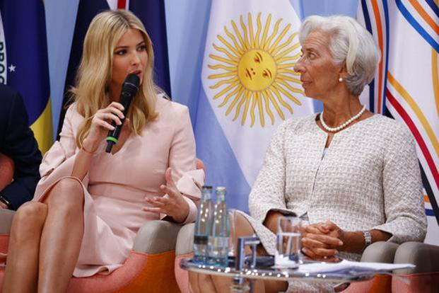 Ivanka Trump fills in for Donald at G20 summit table