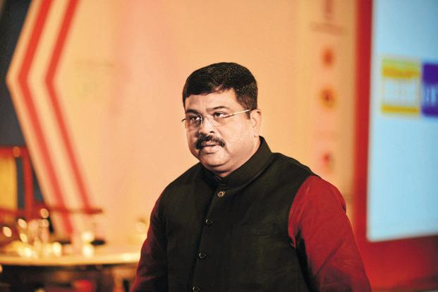 Oil minister Dharmendra Pradhan on Saturday performed a ceremony at Dhamra LNG terminal in Odisha, marking the project's commencement. Photo: Pradeep Gaur/Mint