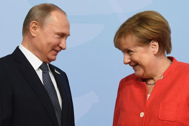Vladimir Putin also said, after the G20 summit, that the Russian Nord Stream 2 undersea gas pipeline project is in Germany's interest. Photo: AFP
