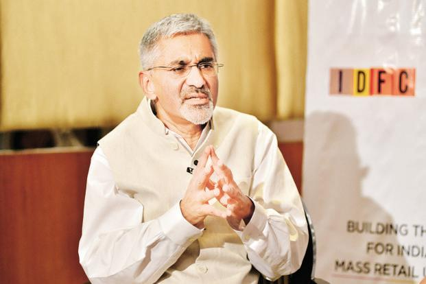 IDFC Bank chief Rajiv Lall says merging Shriram Transport into the bank now is regulatory-wise not possible because it would implied a more than allowable dilution of IDFC's ownership stake in the bank. Photo: Aniruddha Chowdhury/Mint