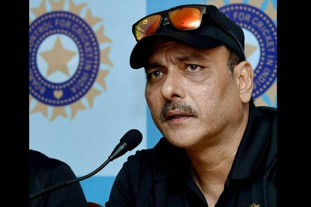 Given his cordial equation with Team India's captain Virat Kohli, Ravi Shastri is the front-runner for the post of the national cricket team's coach. Photo: PTI