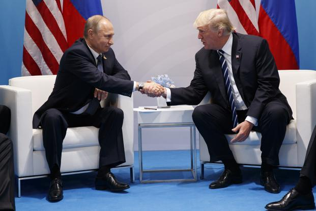Donald Trump did not extract any price from Vladimir Putin for the invasion of Ukraine, his coziness with Syria's Bashar al-Assad, his ineffectiveness at confronting Islamic State or his support for the Iranian regime. Photo: AP