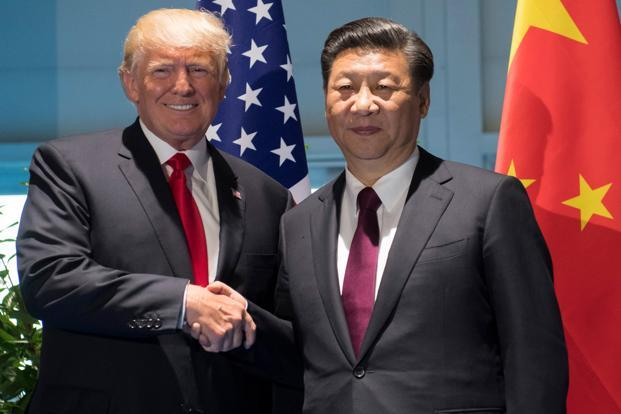 Donald Trump has urged Xi Jinping to use China's economic leverage to pressure Pyongyang. Photo: Sam Loeb/Reuters
