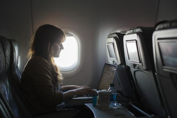 India is perhaps the only country apart from North Korea that doesn't allow Wi-Fi on flights. Photo: Reuters