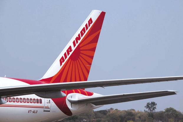 Air India will stop serving non-vegetarian food to domestic economy class passengers. Photo: Bloomberg