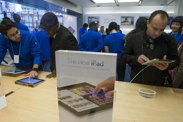 New Apple iPad Pro and Mac sales begin in India on Monday. Photo: Bloomberg